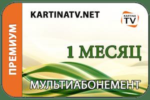 Абонемент KartinaTV на 1 месяц - Премиум
